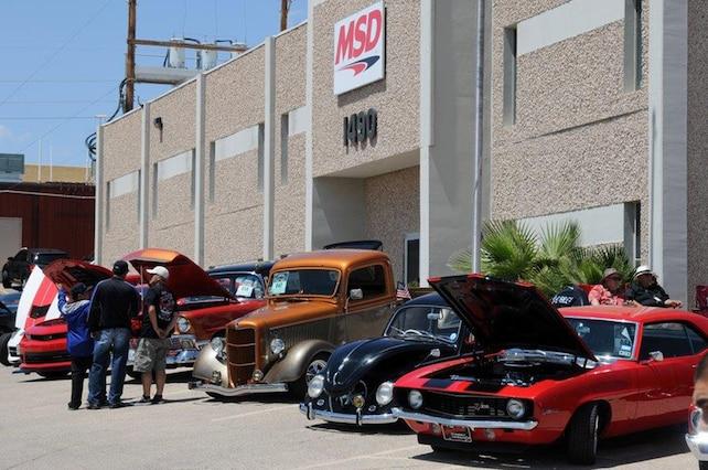 MSD Car Show 2015 Cars