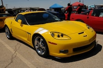 MSD Car Show 2015 Corvette Yellow Grand Sport