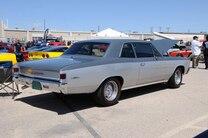 MSD Car Show 2015 Chevelle Silver