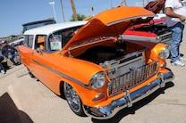MSD Car Show 2015 Orange Tri Five Wagon