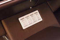 1971 Chevrolet Chevelle Green Pearl Controls