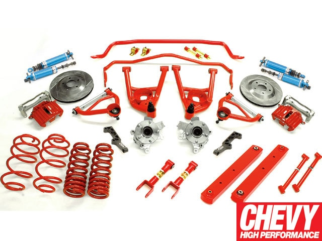 0901chp_02_z 1971_chevy_chevelle_bmr_fabrications_level_4_brake_and_suspension_package_upgrade Bmr_upgrade_kit