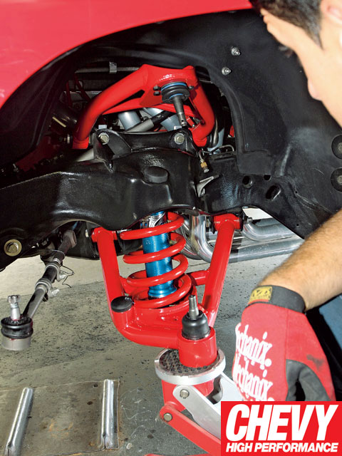 0901chp_04_z 1971_chevy_chevelle_bmr_fabrications_level_4_brake_and_suspension_package_upgrade Bmr_control_arms