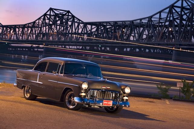 1955 Chevrolet Bel Air Front Side