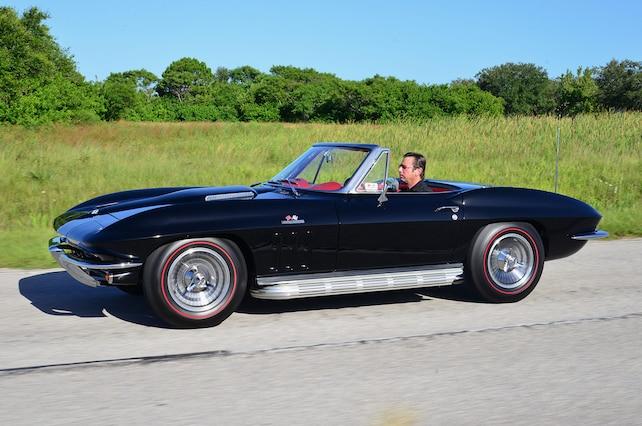 1965 corvette convertible chevy dream giveaway machine block