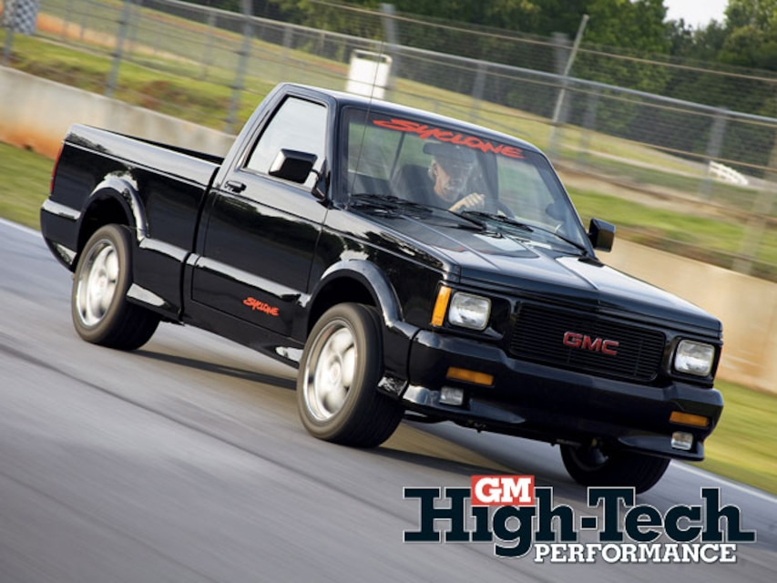 All Wheel Drive 1991 GMC Syclone - GM High-Tech Performance