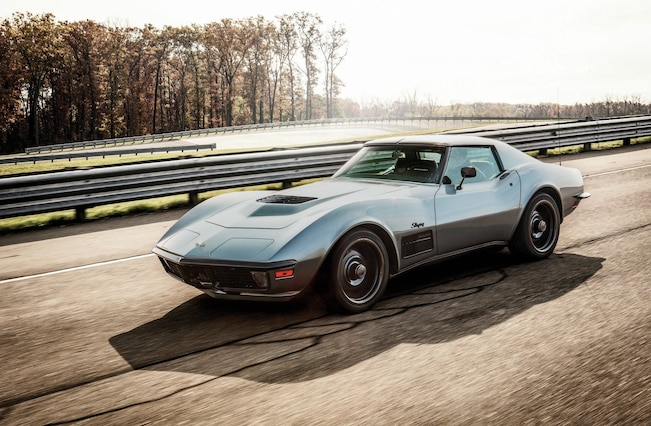 1971 Chevrolet Corvette Side View Motion