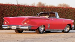 Sucp 0008 Pl 1958 Chevy Impala Rear View