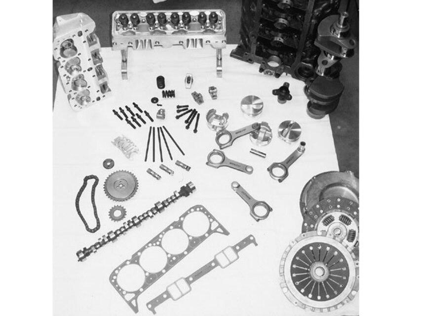 Chevy LT1 Engine Build - Late-Model 383 Buildup, Part 1