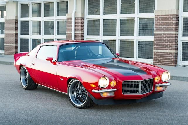 1973 Chevrolet Camaro Front