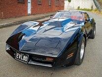 Vemp 0902 Pl 1980 Chevrolet Corvette Front View