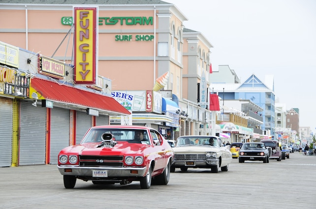2015 Cruisin Ocean City Boardwalk Cruise