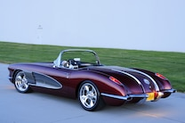 1958 Chevrolet Corvette Rear Side