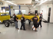 Chevrolet C10 Bed Removal