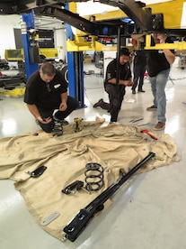 Chevrolet C10 Shortbed Suspension Install