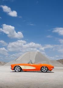 1961 Chevrolet Corvette Side