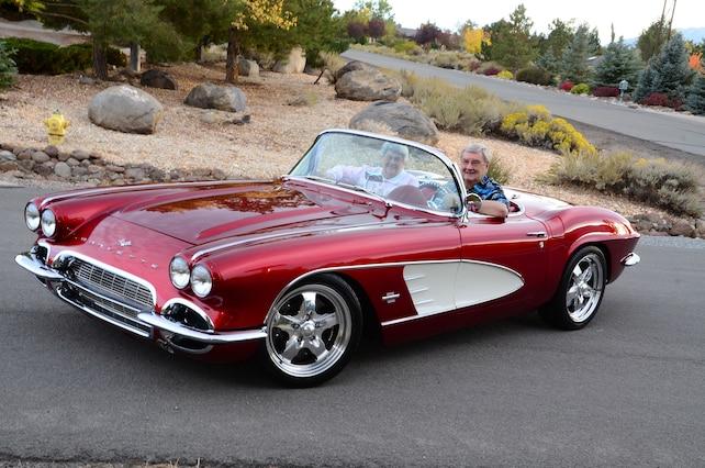 1961 Chevrolet Corvette Front Side