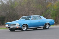 1966 Chevrolet Chevelle Side View
