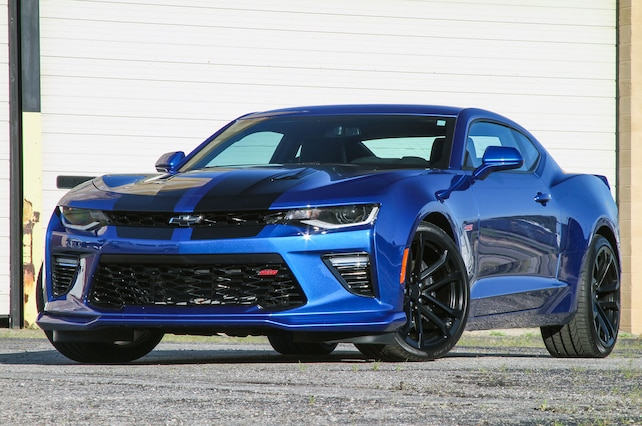 2016 Chevrolet Camaro Ss Front View