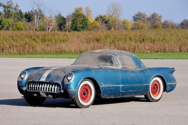 1955 Chevrolet Corvette Side View