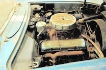 1955 Chevrolet Corvette Engine Bay