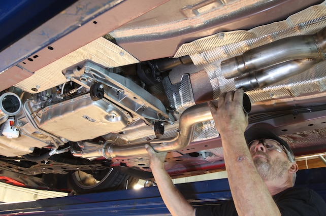 Chevy Ss 2014 Stainless Jba Exhaust System Install Midpipe
