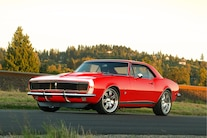 1967 Camaro Red Front