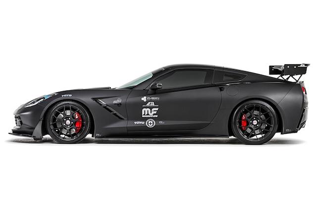 2014 C7 Corvette Coupe Z51 Lt1 Side