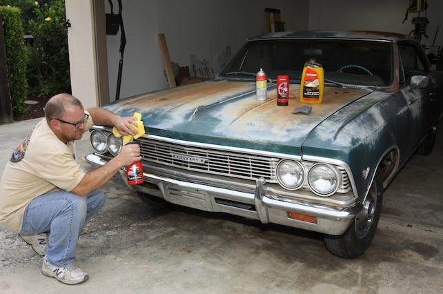 1966 Chevrolet Chevelle Malibu Chrome Restoration Diy
