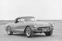 1957 Chevrolet Corvette Front Side View