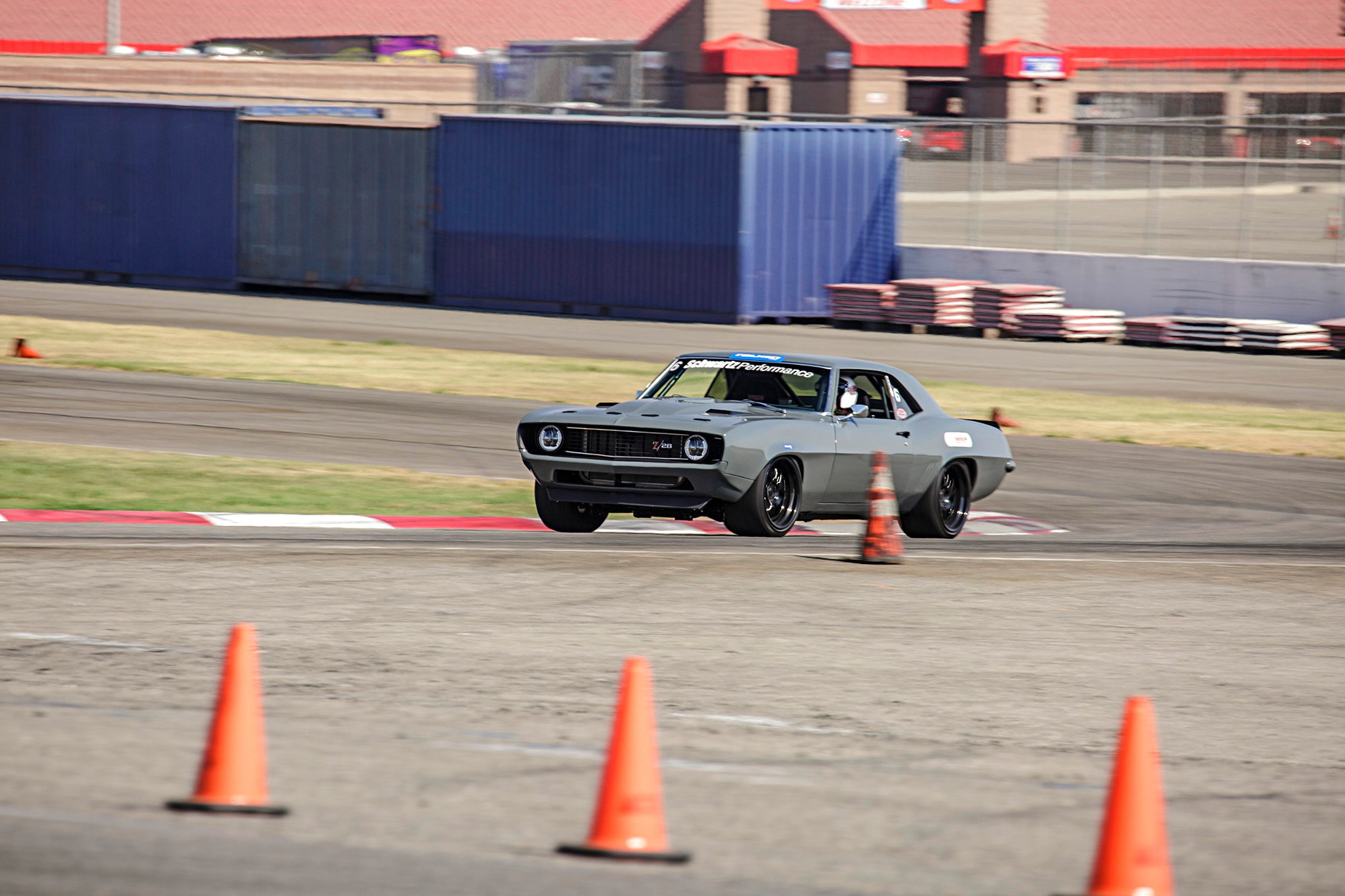1969 Schwartz Camaro Falken Tires Super Chevy Muscle Car Challenge Rt615k 002
