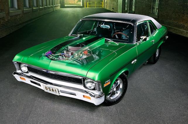 1972 Chevrolet Nova Front