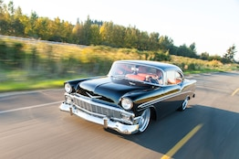 Immaculate Pro Touring LS3-Powered 1956 Chevy Bel Air