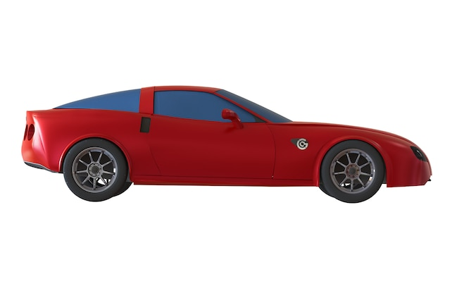 Genovation Corvette C6 GXE Electric Side View