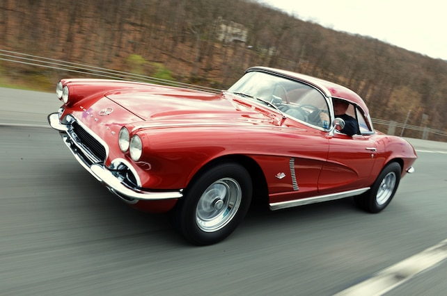 1962 Chevrolet Corvette Action
