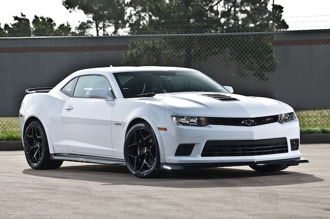 2015 Chevrolet Camaro Front Side View