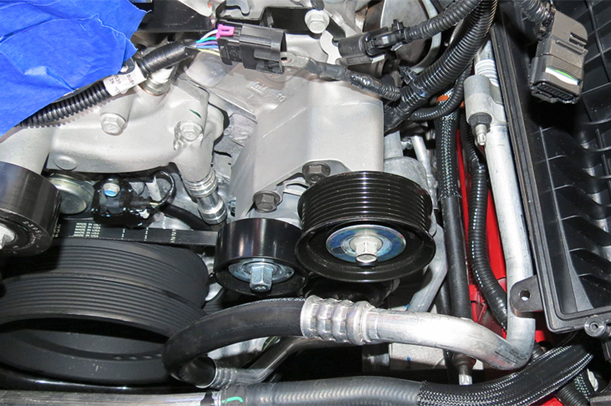 get 559 horsepower from a 2016 camaro ss with an edelbrock e forcesupercharger belt tensioner