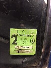 Rare Finds Bizzarro 1969 Chevrolet Camaro Z28 Registration Sticker