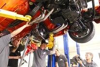 Week To Wicked Day 2 PM Hydrastop American Legend Wheels Falken LS Install 4L70e 050
