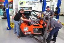 Week To Wicked Day 2 PM Hydrastop American Legend Wheels Falken LS Install 4L70e 036