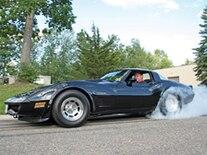 Vemp 0902 Pl 1982 Chevrolet Corvette Burnout