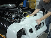 Project Zedsled Camaro Front Bumper Fiberglass 20