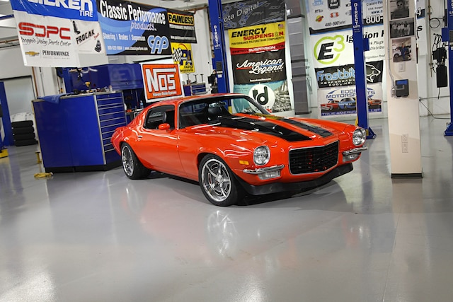 Week To Wicked 1972 Camaro Build Super Chevy Hugger Orange Ls Swap 001
