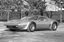 1973 Corvette Xp 895 Prototype Side View