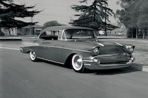 Archive Curry 1957 Chevrolet Bel Air Front Three Quarter