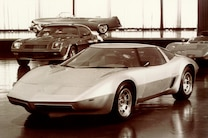 1973 Corvette 4 Rotor Aerovette Prototype Front Side View