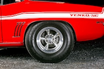 1969 Red Yenko Camaro Pro Street Big Block 009