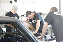 1963 Chevrolet Nova Being Worked On