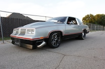 1982 Oldsmobile Cutlass Front Drivers Side Low Angle