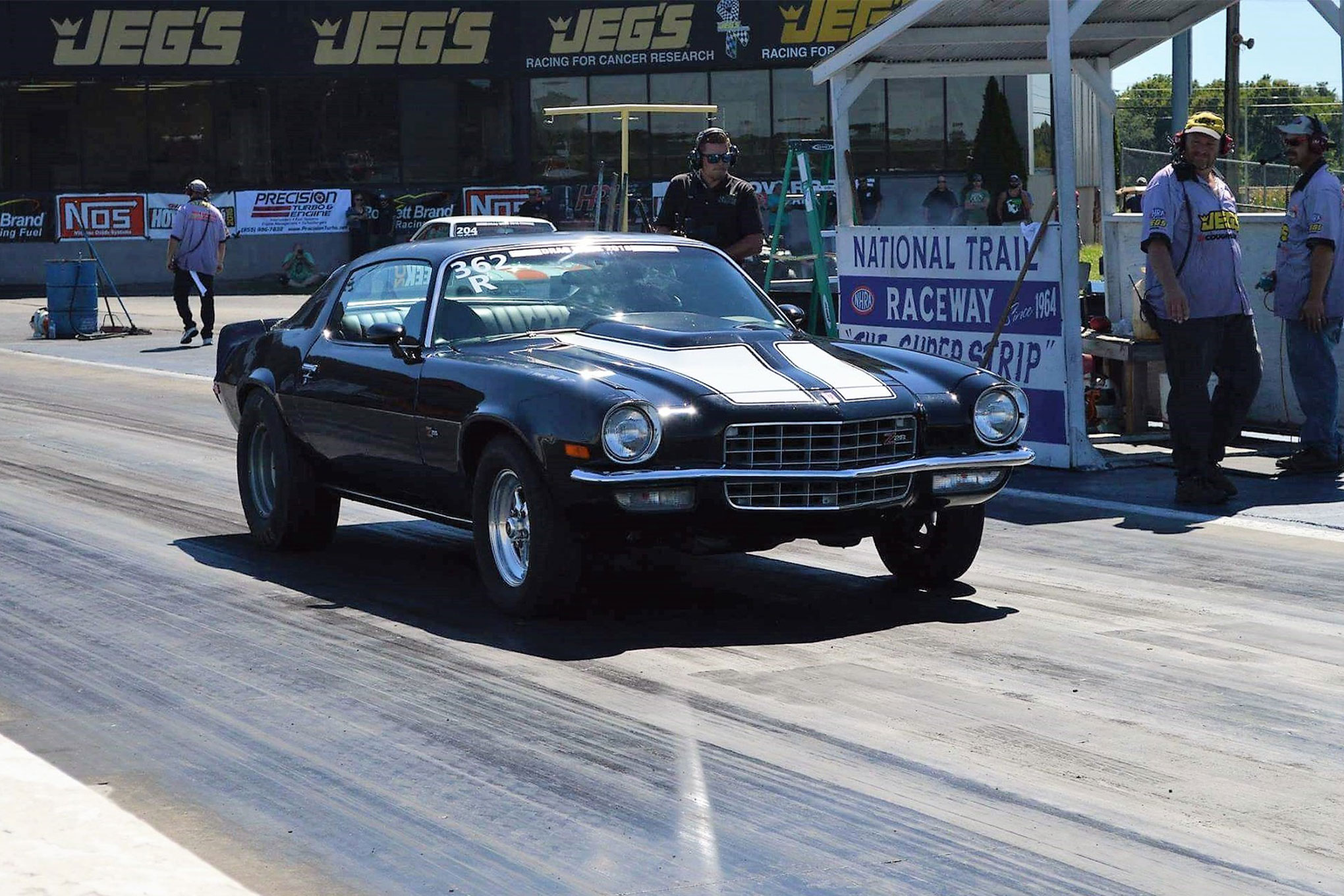 Family-Built 1973 Camaro Races Drag Week on a Budget